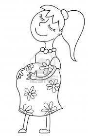 Resultado De Imagen Para Etapas De Embarazo Animado Para Colorear