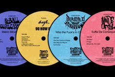 Some of the titles from Chopped Herring Records.