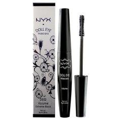 NYX Doll Eye Mascara, Extreme Black,  Volume,  DE02 by NYX, http://www.amazon.com/dp/B000WYZ9Q4/ref=cm_sw_r_pi_dp_3I2Tqb0DMMSC8