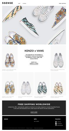 Currently trending: KENZO x Vans | Awesome Screenshot