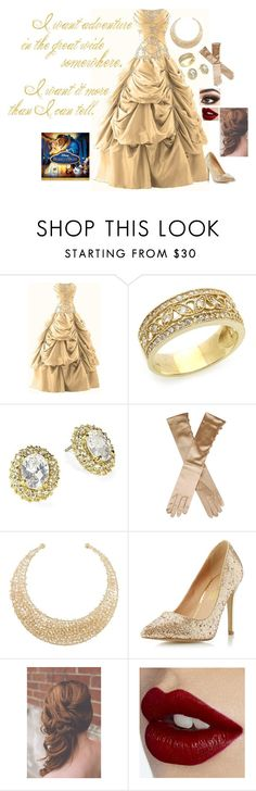 """""""Modern princess: Belle"""" by rebecca41622 ❤ liked on Polyvore featuring Kate Spade, 8, Dorothy Perkins, Charlotte Tilbury and modern"""