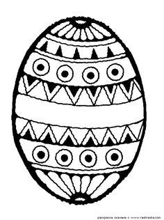 Пасхальное яйцо » Раскраски для детей. Распечатать детские раскраски бесплатно. Раскраски животных, барби, фей винкс, машины, принцессы, цветы, птицы