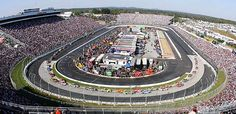 Martinsville Speedway- I've been here a couple of times love this paperclip track.  We even brought the boys to a race here.