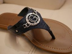 NEW WOMEN'S GUESS FLIP FLOPS BLUE SPARKLE RHINESTONES GLITTER FLORA-R7,8,9,10,11 | Clothing, Shoes & Accessories, Women's Shoes, Sandals & Flip Flops | eBay!