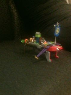 Made of various lego sets(world of war craft,halo ,power rangers,spiderman ,star wars)