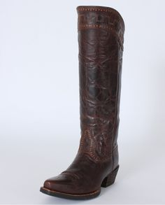 Ariat® Ladies' Sahara Old West Sassy Brown Boots - Fort Brands