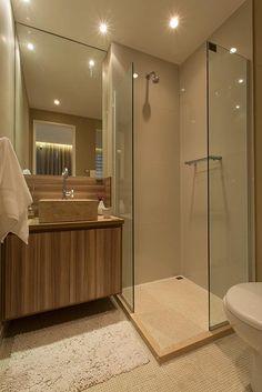 Banheiro da suite do Imagine Santo André