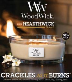 Dla tych, którzy pragną się zrelaksować przy kominku, ale... na kominek pozwolić sobie nie mogą - pachnąca świeca, która skwierczy przy paleniu! Nowość w naszym sklepie:) - Zapraszamy!:)