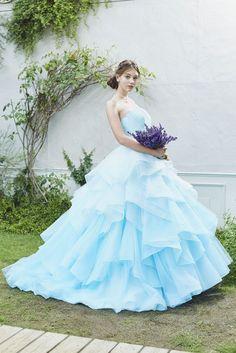 no.23795 - COLOR | 新宿でウェディングドレスをレンタルするならブライダルサロンHANA