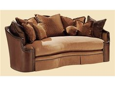 Shop for Marge Carson Alyssa Sofa, AY43, and other Living Room Sofas at Boyles Furniture in North Carolina.