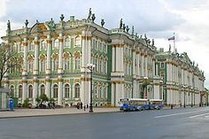 Hermitage - St Petersburg; wonder if you still need to remove your shoes while visiting this?