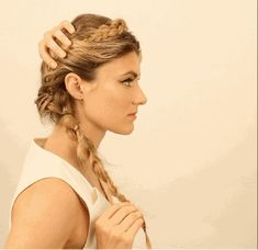 4 easy summer braids to try now. Click through for the full hairstyle how-to's: #hair #hairstyles #beautyinthebag