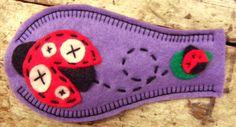Cloth Eye Patch for Lazy Eye - Ladybug. $14.00, via Etsy.