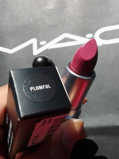 MAC Plumful. Beloved by many TSu's. Versatile everyday color, neither plum nor rose but somewhere in between.