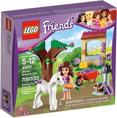 Olivia's Newborn Foal is a set released in January It is now retired. Take care of the Newborn Foal! Lego Minecraft, Minecraft Buildings, Lego Friends Sets, Lego Birthday, Birthday Wishes, Lego Juniors, Mustache Party, All Lego, Lego Figures