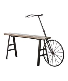 Antique Bicycle Bench | zulily