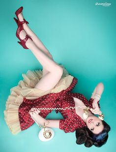Love everything about this pin-up. By Shameless Photography.