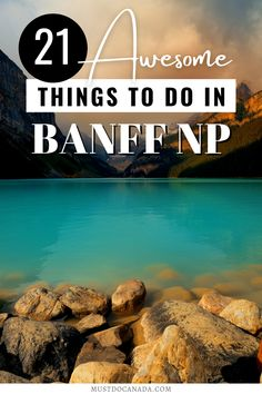Are you planning a vacation in Banff? Here's your ultimate guide to Banff National Park, including a park pass, getting there, weather, winter and summer activities, and all the top things to do in Banff National Park. Start planning your Canadian holiday in Banff today! I Alberta travel I winter activities in Banff NP I what to do in Banff in summer I tips for Banff National Park I things to do in Alberta I Canada travel I places to go in Alberta I top destinations in Canada I #Banff #Canada Banff National Park Canada, National Parks, Banff Canada, Canadian Holidays, Alberta Travel, Ontario Travel, National Landmarks, Parks Canada, Road Trip Adventure