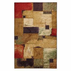 Woodgrain Woodgrain Libretto Rectangular: 8 Ft. x 10 Ft. Rug