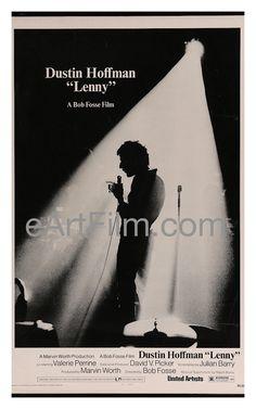 Lenny 1974 27x41 Original U.S One Sheet-Spotlight version