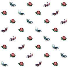 Tattoo inspired pattern