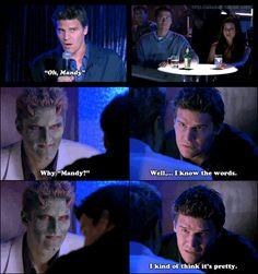 "Angel thinks ""Mandy"" is pretty.  Angel - 2x01 - ""Judgement"""