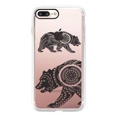 Dream catcher Ornate Bear - iPhone 7 Case, iPhone 7 Plus Case, iPhone... (2,575 INR) ❤ liked on Polyvore featuring accessories, tech accessories, iphone case, iphone cases, iphone cover case, apple iphone case and iphone hard case