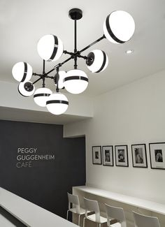 Shop SUITE NY for the Peggy Futura chandelier and pendants designed by Hangar Design Group for Vistosi and more modern hanging lights from Italy Cool Lighting, Lighting Design, Pendant Lighting, Island Lighting, Light Pendant, Lighting Ideas, Chandelier, Modern Hanging Lights, Cafe Pictures