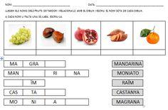 fitxes sant jordi - Buscar con Google Fruits And Vegetables, School, Places, Google, Food Items, Special Education, Classroom, Universe