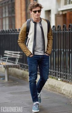 Street Snaps! Random Spring 2017 Street Style Inspirations. | Follow rickysturn/mens-casual for more Trending Men's Fashions. Oliver Cheshire, Photographed in London