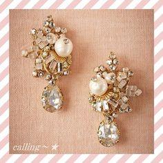 関税.送料込!!★BHLDN★Faina Cluster Earrings