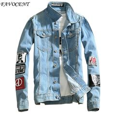 Just launched! FAVOCENT 2017 spring new Top Quality Denim Jackets Men Hip Hop Clothing long sleeve Street wear Jeans Jackets Free shipping 5XL http://alsdiscountfashion.com/products/favocent-2017-spring-new-top-quality-denim-jackets-men-hip-hop-clothing-long-sleeve-street-wear-jeans-jackets-free-shipping-5xl?utm_campaign=crowdfire&utm_content=crowdfire&utm_medium=social&utm_source=pinterest