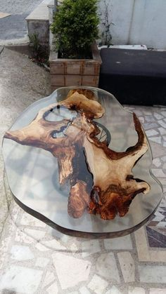 Amazing Resin Wood Table Home Furniture Ideas 04