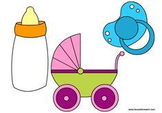 SAGOME PER NEONATI Sagome ideali per realizzare biglietti e decorazioni per nascita bambina o bambino.
