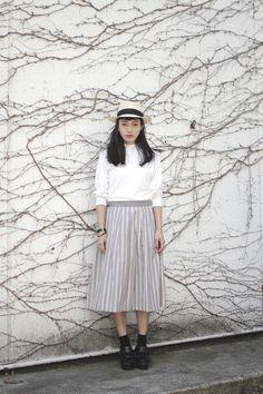 [Street Style] 百富 友香理 | Bloc de lar't | Shibuya (Tokyo)