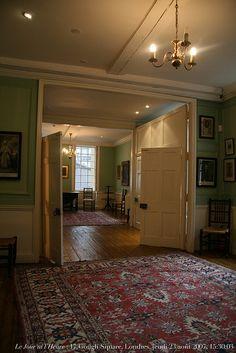 Renaud Camus Le Jour ni l'Heure : 17 Gough Square, maison de Samuel Johnson (1709-1784) à Londres, jeudi 23 août 2007, 15:30:03