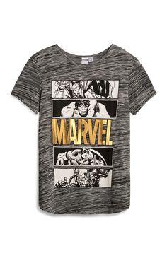 Grey Marvel Avengers T-Shirt