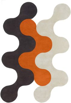 Flammes-Defeu 2 Rug from the Shapes Irregular and Odd Rugs I collection at Modern Area Rugs