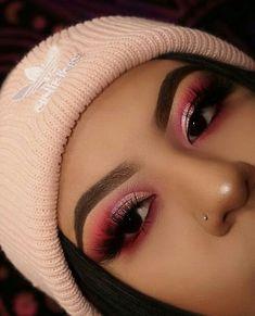 Maquiagem, maquillaje, makeup, maquiagem profissional, makeup ideas Make-up Make-up Make-up Professionelle Make-up-Make-up-Ideen Glam Makeup, Skin Makeup, Eyeshadow Makeup, Drugstore Makeup, Pink Eyeshadow, Pink Eye Makeup, Beauty Makeup, Eyeshadow Palette, Makeup Geek