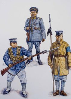 Chinese Warlord Armies 1911-30 Ankuochun Troops by stephengwalsh