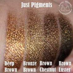 Тени JP Bronze Brown / Бронзовый коричневый