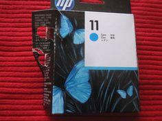 Genuine HP 11 Cyan print cartridge Sealed Expires March 2017 C4811A  #HP
