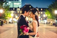 maRthgrarhyの高橋エイジさんに撮ってもらった前撮り。新緑あふれる5月に、丸の内→お台場→東京タワ→東京駅のフルコースでたくさん写真の素敵な写真を撮ってもらいました。結婚が決まる前から「前撮りをするならカメラマンの高橋さんに撮っていただきたい!」と憧れていたので、それだけでもとても良い思い出になりました☆