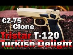 Tristar Arms T-120 9mm review CZ-75 clone - YouTube Pretty cool info about alternatives to buying a Pricey CZ-75... Hmmm what's on gunbroker?? :)