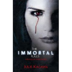 The Immortal Rules (Blood of Eden) by  Julie Kagawa   New Series by the writer of the Iron Fey Series. It is a very good read. Cant wait for the second book.    Blurb...  You will kill. The only question is when.  In the dark days since the insidious Red Lung virus decimated the human population, vampires have risen to rule the crumbling cities and suburbs.   Uncomfortable in her undead skin.....