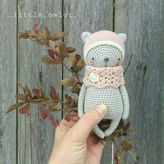KITTY crochet pattern by littleowletshop on Etsy