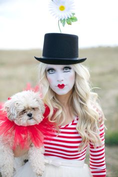 GORGEOUS french clown! looove the idea! More