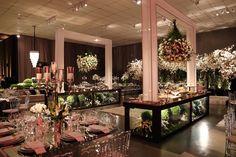 Casamento de luxo: ornamentação sofisticada