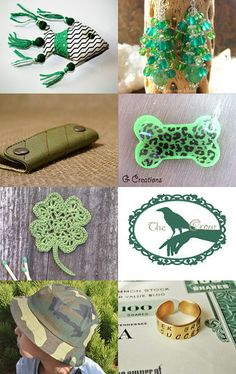 green gifts by Vladimir on Etsy--Pinned with TreasuryPin.com