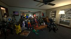 little party-screenshot from Gmod